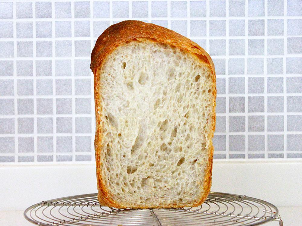 はるゆたかブレンドプレミアム7を使ったホームベーカリー食パン