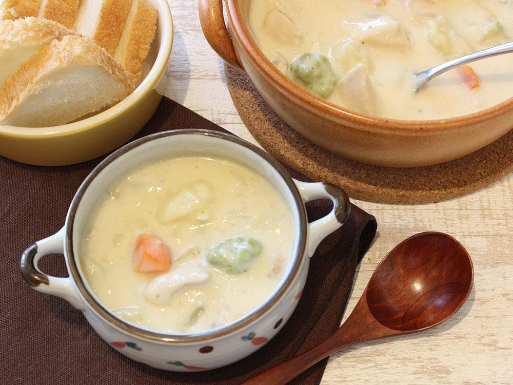 ホワイト シチュー レシピ